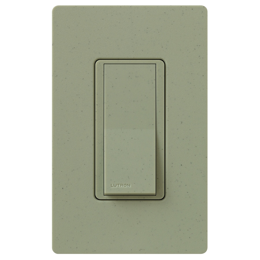 Lutron Claro 15-Amp 4-Way Greenbriar Indoor Push Light Switch