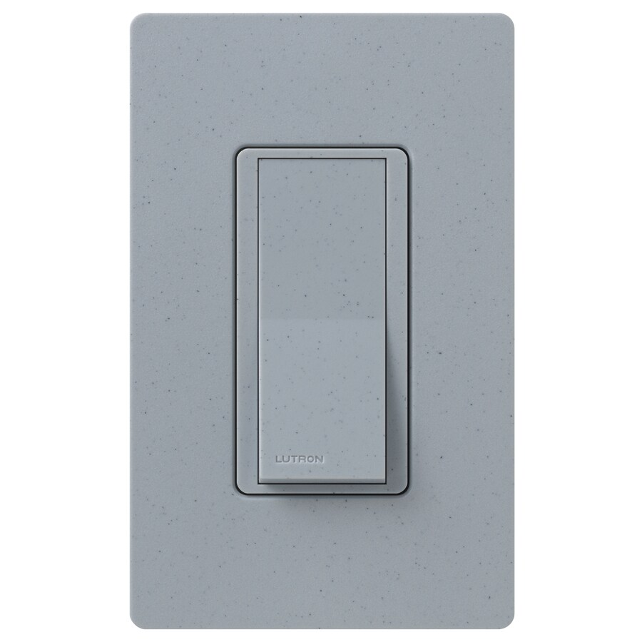 Lutron Claro 15-Amp 4-Way Bluestone Indoor Push Light Switch