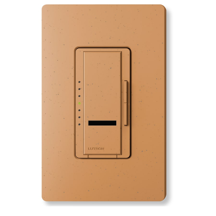 Lutron Maestro IR 600-Watt Single Pole Wireless Terracotta Indoor Remote Control Dimmer