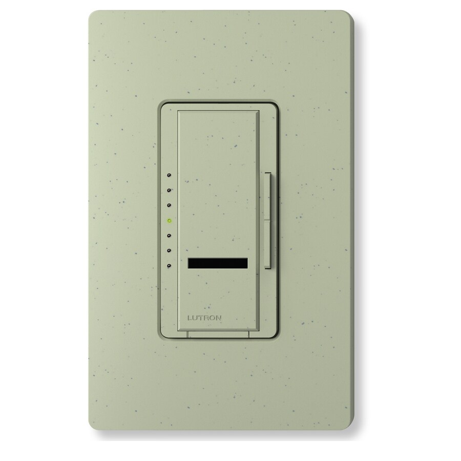 Lutron Maestro IR 600-watt Single Pole Wireless Greenbriar Remote Control Indoor Dimmer