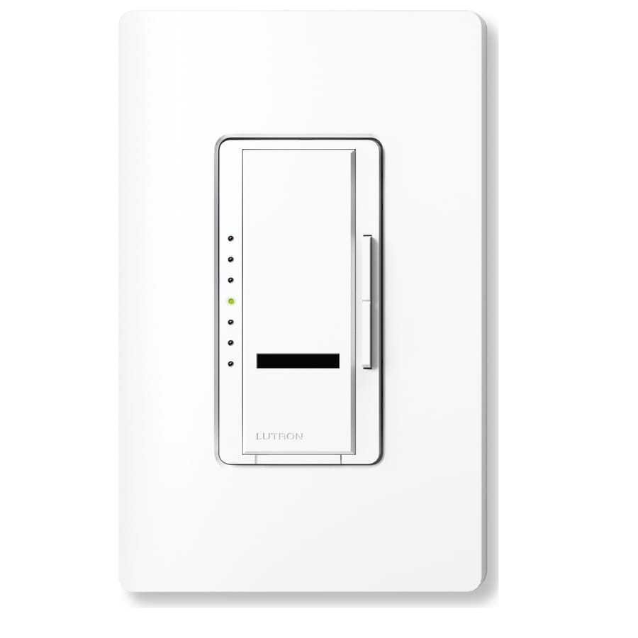 Lutron Maestro IR 1,000-Watt Single Pole Wireless Stone Indoor Remote Control Dimmer