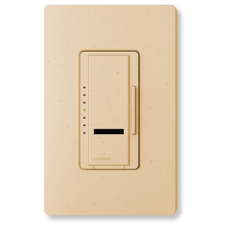 Lutron Maestro IR 1000-Watt Single Pole Wireless Desert Stone Remote Control Indoor Dimmer