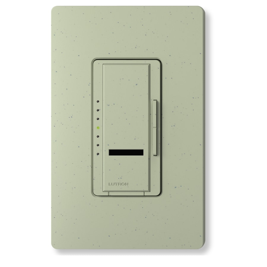 Lutron Maestro IR 1,000-Watt Single Pole Wireless Greenbriar Indoor Remote Control Dimmer