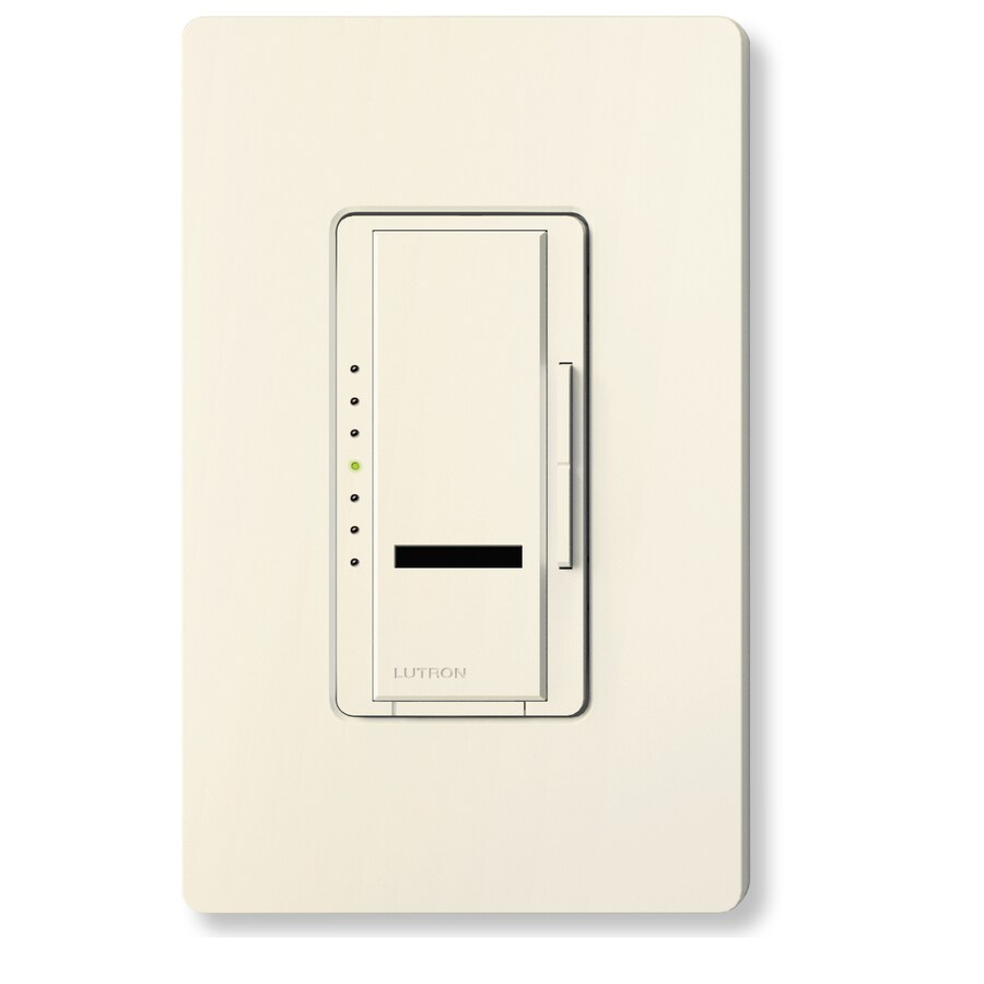 Lutron Maestro IR 450-Watt Single Pole Wireless Biscuit Indoor Remote Control Dimmer