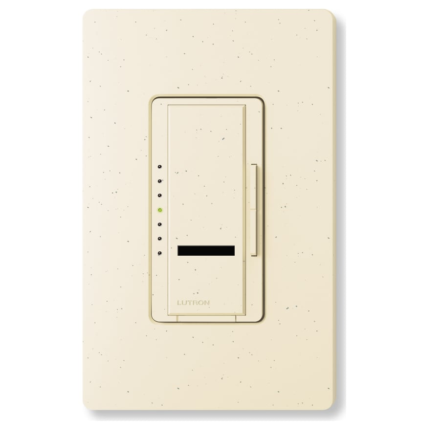 Lutron Maestro IR 450-watt Single Pole Wireless Limestone Remote Control Indoor Dimmer
