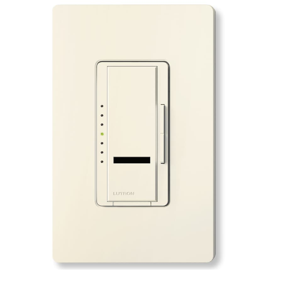Lutron Maestro IR 800-Watt Single Pole Wireless Biscuit Remote Control Indoor Dimmer