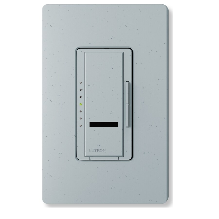 Lutron Maestro IR 800-Watt Single Pole Wireless Bluestone Indoor Remote Control Dimmer