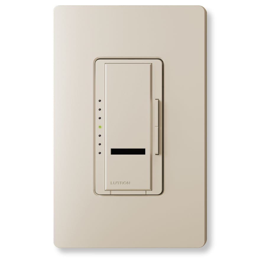 Lutron Maestro IR 800-Watt Single Pole Wireless Terracotta Indoor Remote Control Dimmer
