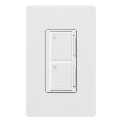 Lutron Maestro 1000 Watt 3 Way 4 White Tap Indoor