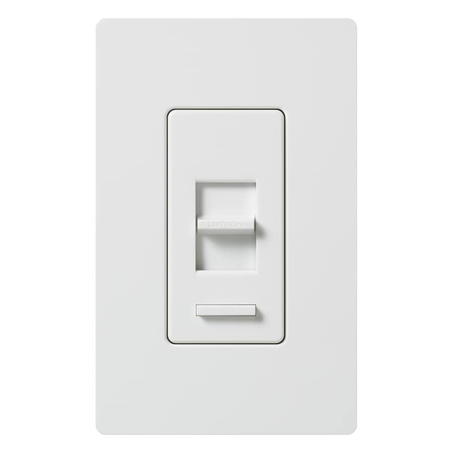 Lutron Lumea 0-Switch 600-Watt Single Pole White Indoor (Control) Dimmer