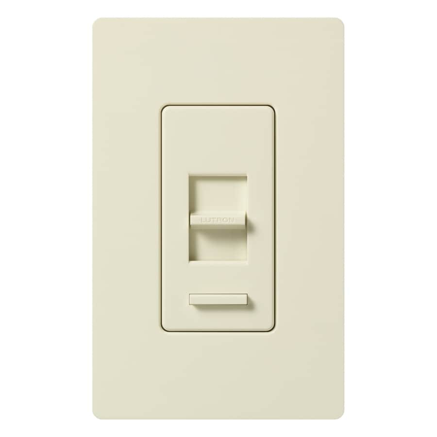 Lutron Lumea 600-watt Single Pole Almond Indoor Dimmer