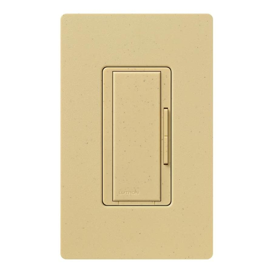 Lutron Maestro 1,000-Watt 3-Way/4-Way Goldstone Indoor Tap Dimmer