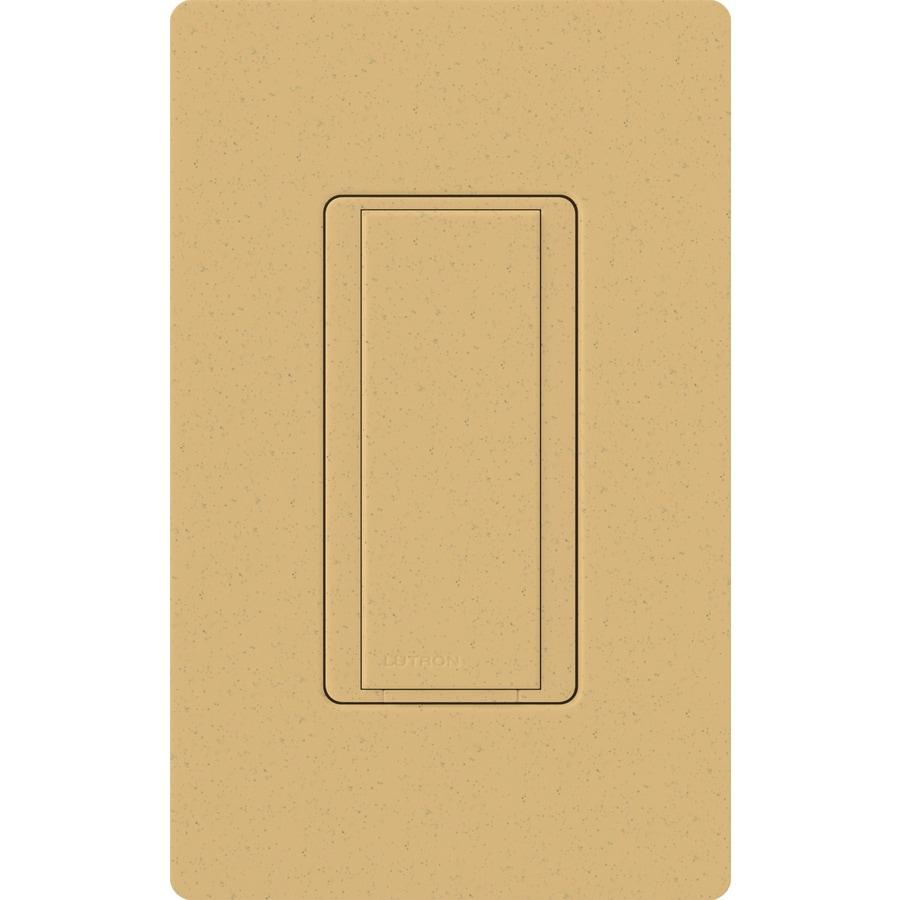 Lutron Maestro 8-Amp Single Pole Goldstone Indoor Push Light Switch
