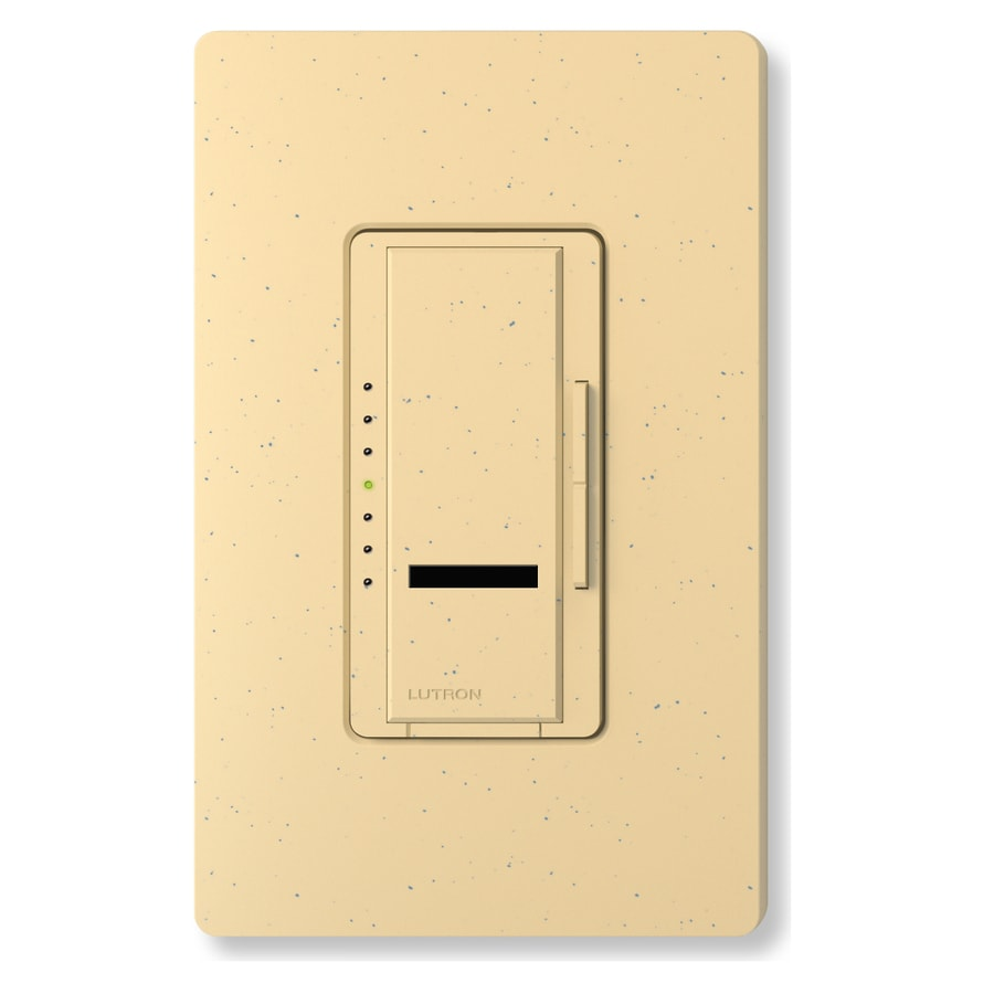 Lutron Maestro IR 1,000-Watt Single Pole Wireless Goldstone Indoor Remote Control Dimmer