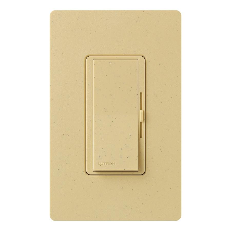Lutron Diva 800-watt Single Pole Goldstone Indoor Dimmer