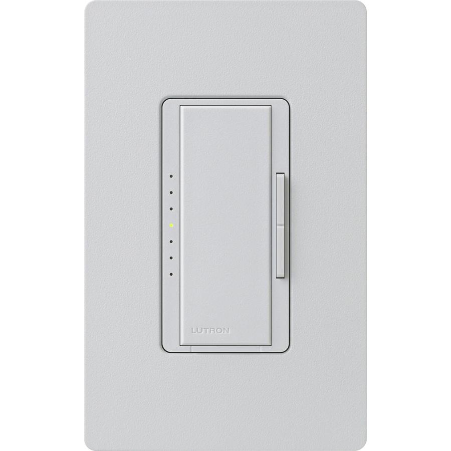 Lutron Maestro 1000-Watt Single Pole Palladium Touch Indoor Dimmer