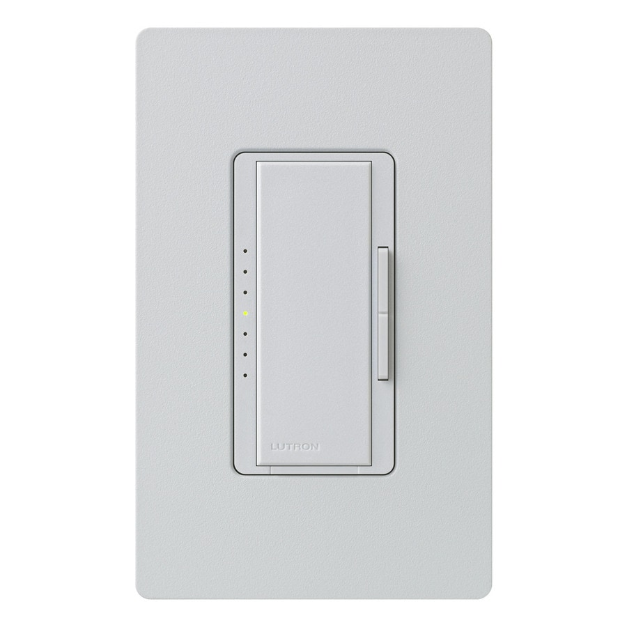 Lutron Maestro  800-watt Single Pole Palladium Touch Indoor Dimmer