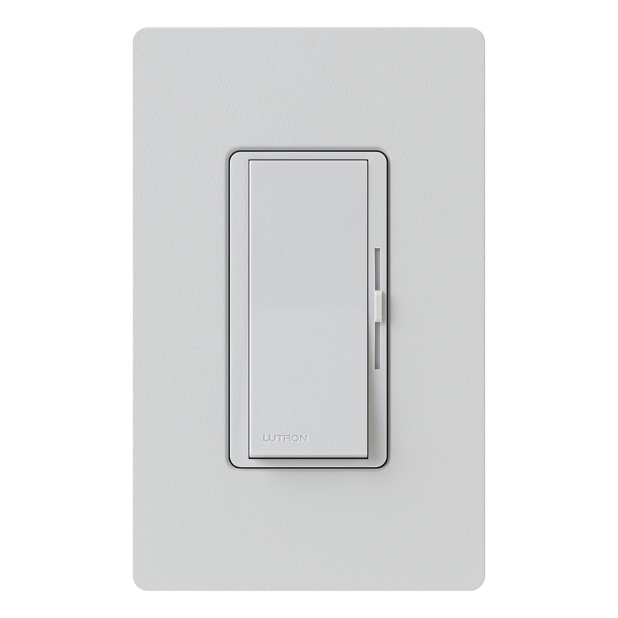 Lutron Diva 800-Watt Single Pole 3-Way Palladium Indoor Dimmer