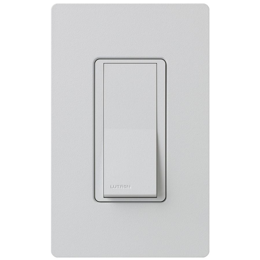 Lutron Claro  15-amp Double Pole 3-way Palladium Push Indoor Light Switch