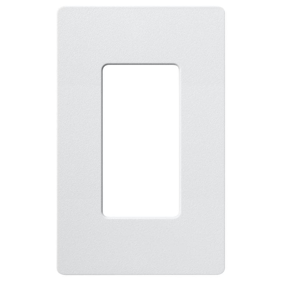 Lutron Claro 1-Gang Palladium Single Decorator Wall Plate