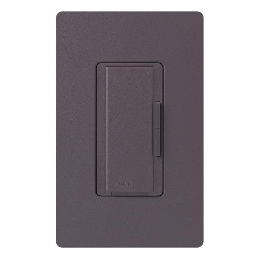 Lutron Maestro 1,000-Watt 3-Way/4-Way Plum Indoor Tap Dimmer