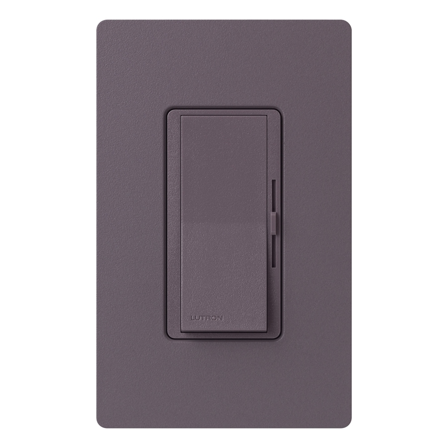Lutron Diva 800-Watt Single Pole Plum Indoor Dimmer
