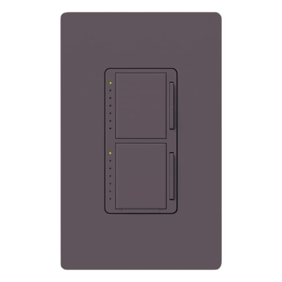 shop lutron maestro 300 watt single pole plum touch indoor dimmer at. Black Bedroom Furniture Sets. Home Design Ideas