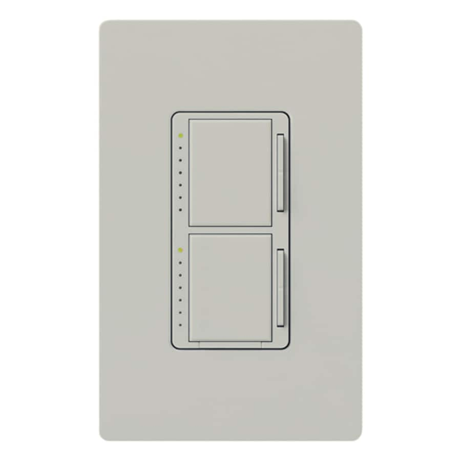 Lutron Maestro 300-watt Single Pole Palladium Touch Indoor Dimmer