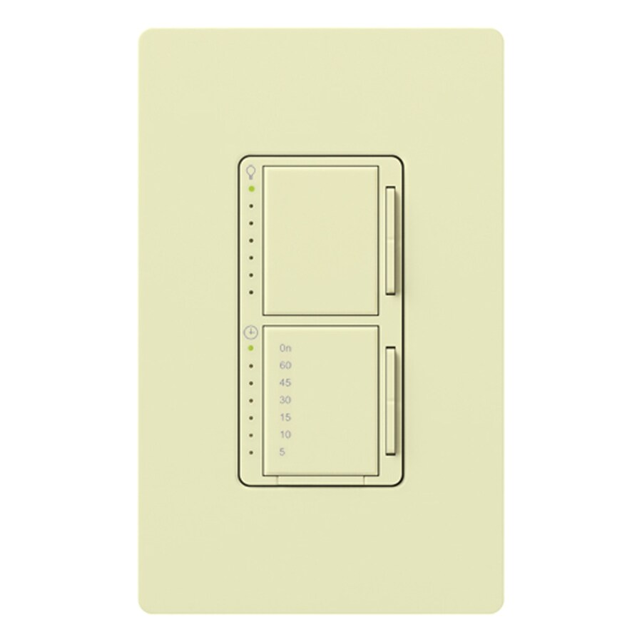 Shop Lutron Maestro 2-Amp Digital Residential Hardwired Countdown Lighting Timer at Lowes.com
