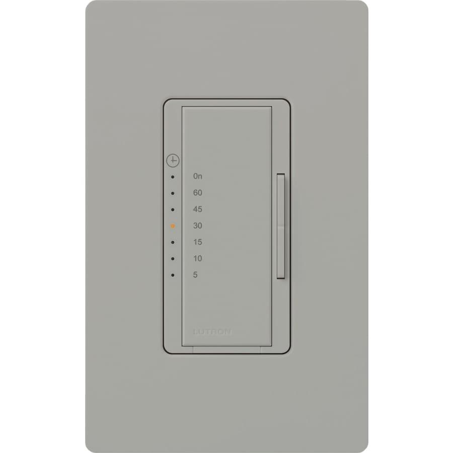 Shop Lutron Maestro 5 Amp Digital Residential Hardwired Countdown Light Switch Lighting Timer