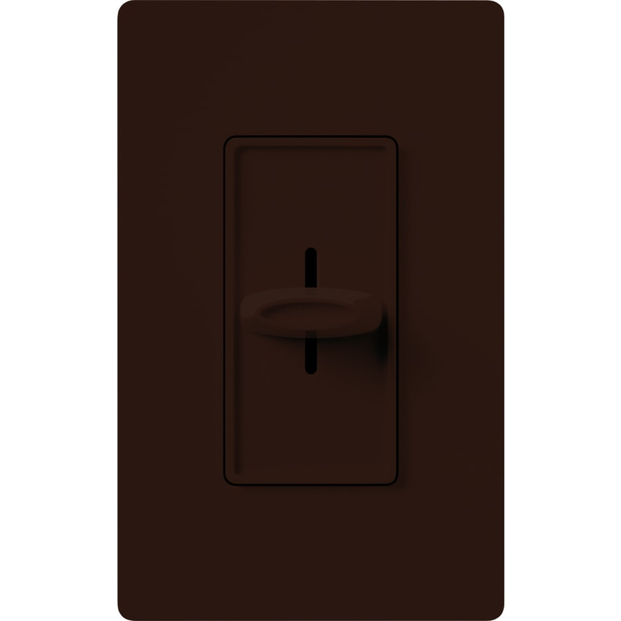 Shop Lutron Skylark 600 Watt Single Pole Brown Indoor