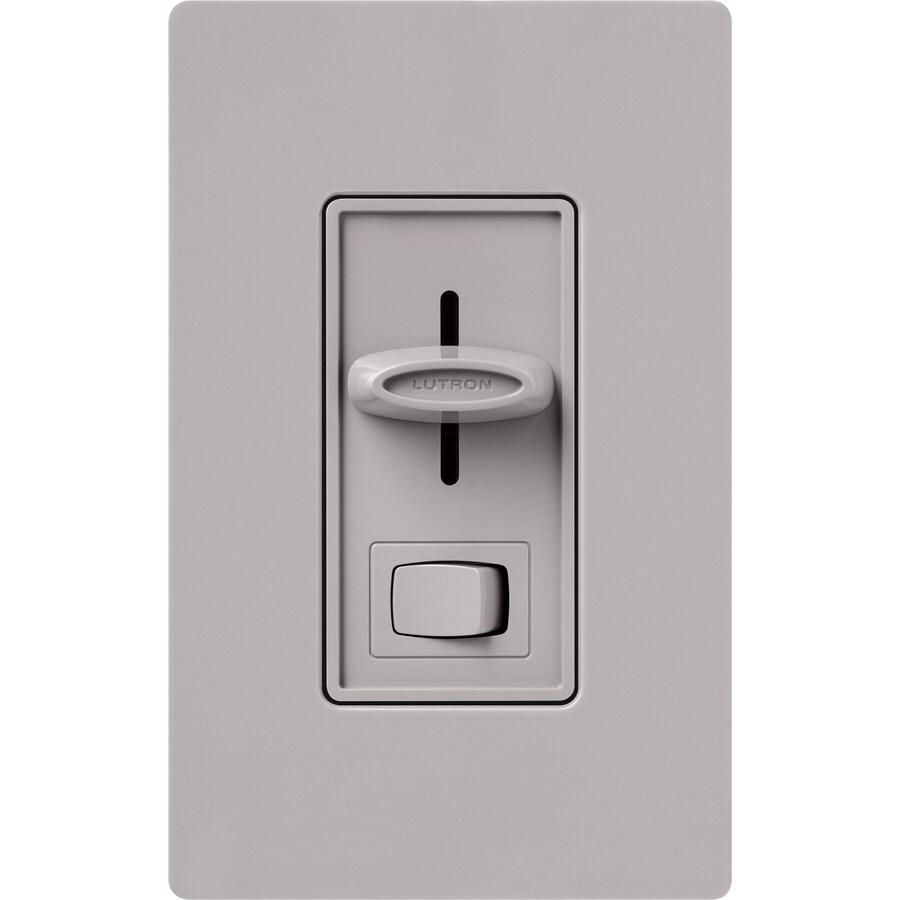 Lutron Skylark 1000-Watt Single Pole 3-Way Gray Indoor Dimmer