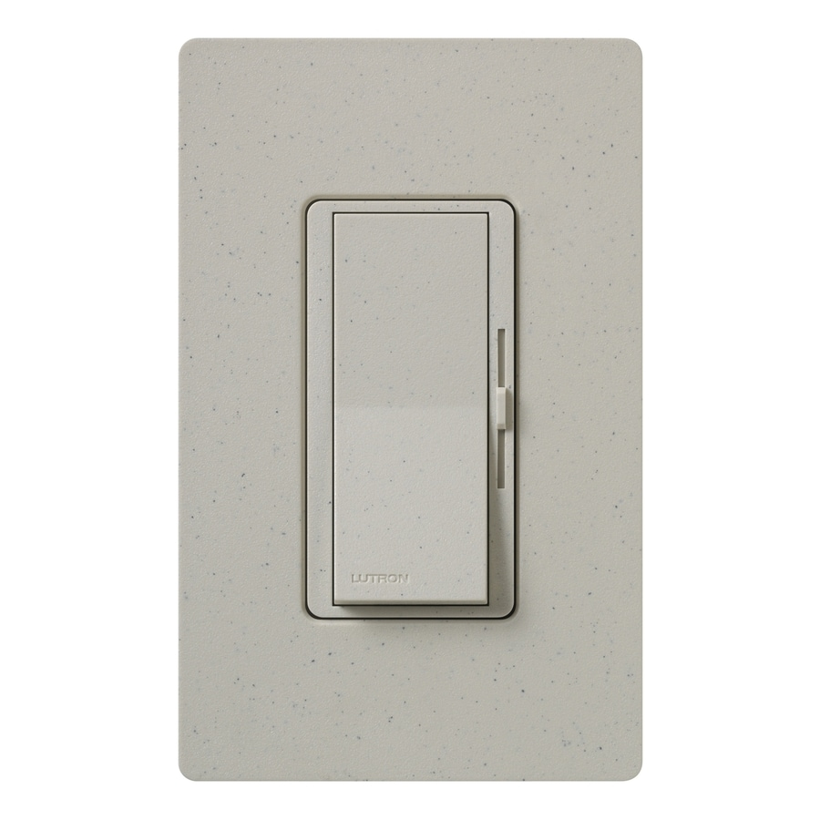 Lutron Diva 800-Watt Single Pole Stone Indoor Dimmer