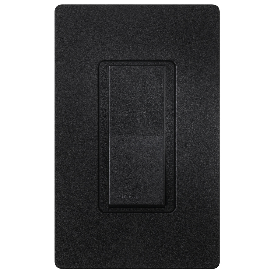 Lutron Claro 15-amp Double Pole 3-way Midnight Push Indoor Light Switch