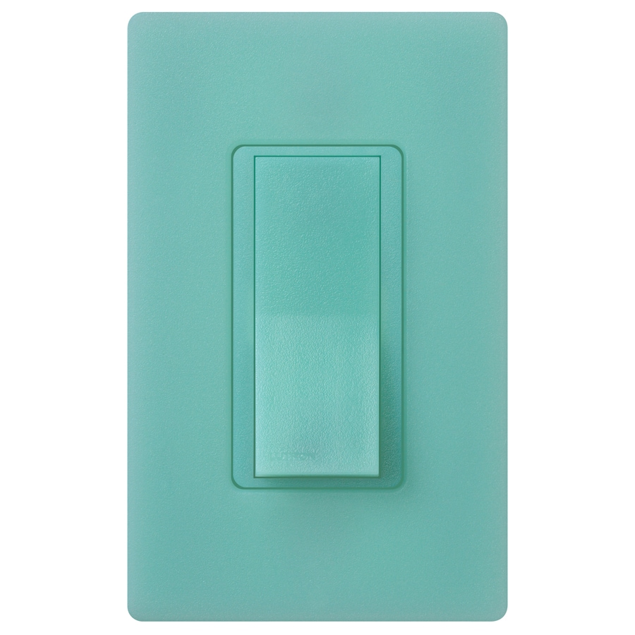 Lutron Claro 15-Amp Double Pole 3-Way Sea Glass Push Indoor Light Switch
