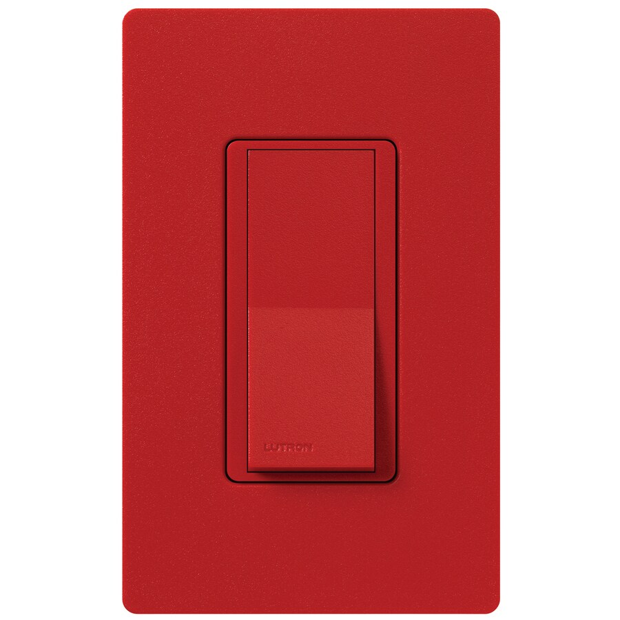 Lutron Claro 15-Amp Double Pole 3-Way Hot Indoor Push Light Switch