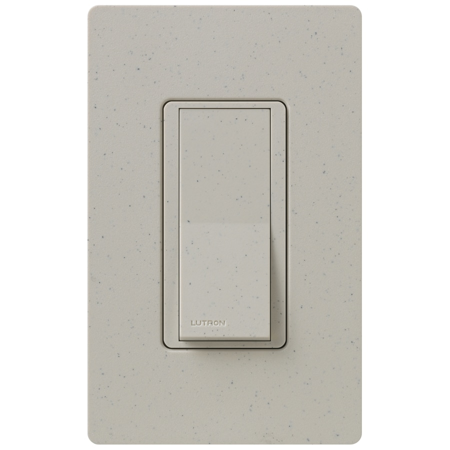 Shop Lutron Claro 15-amp Double Pole 3-way Stone Push Light Switch ...