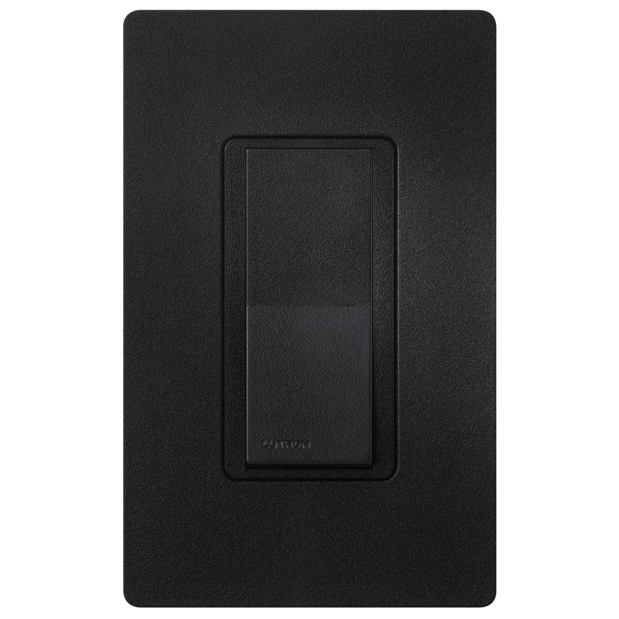 Lutron Claro 15-amp 4-way Midnight Push Indoor Light Switch