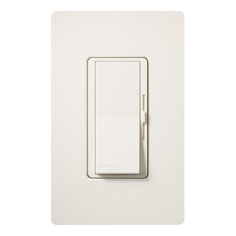 Lutron Diva 600-watt Single Pole Biscuit Indoor Dimmer