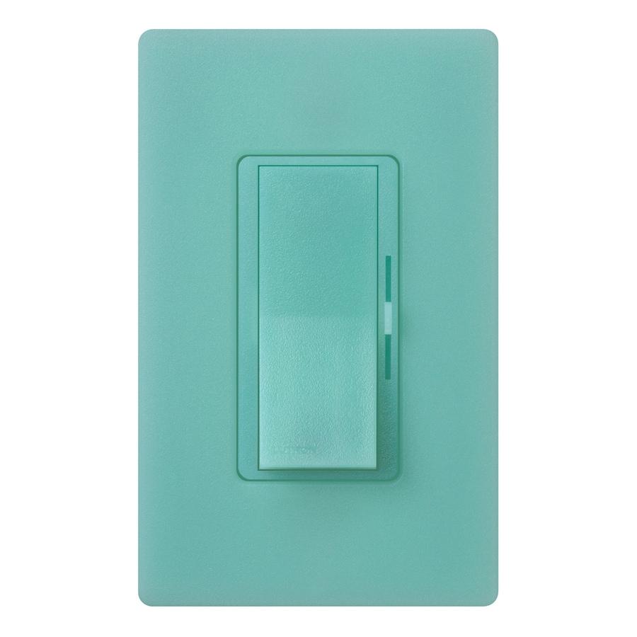 Lutron Diva 600-Watt Single Pole Sea Glass Indoor Dimmer