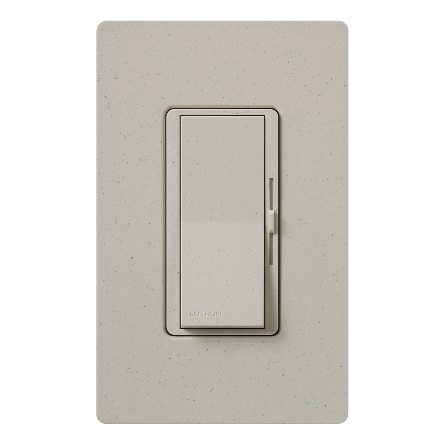 Lutron Diva 600-Watt Single Pole Stone Indoor Dimmer