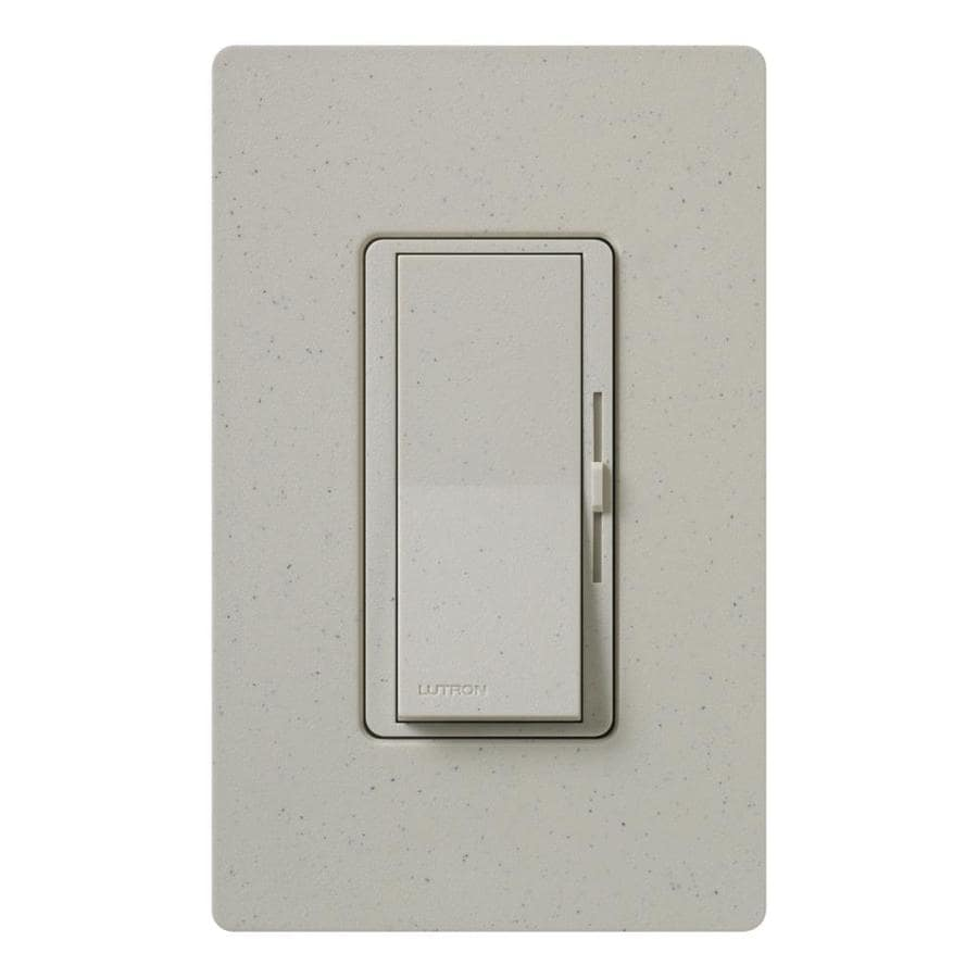 Lutron Diva 600-watt Single Pole 3-way Stone  Indoor Dimmer