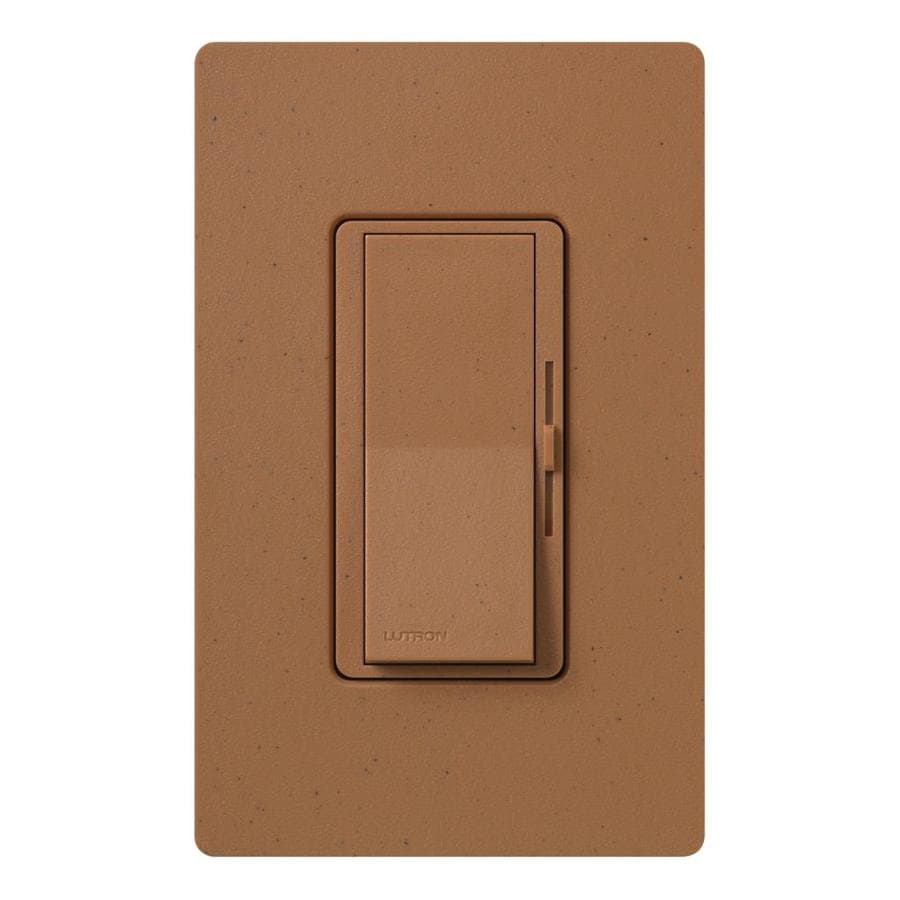 Lutron Diva 600-Watt Single Pole 3-Way Terracotta Indoor Dimmer