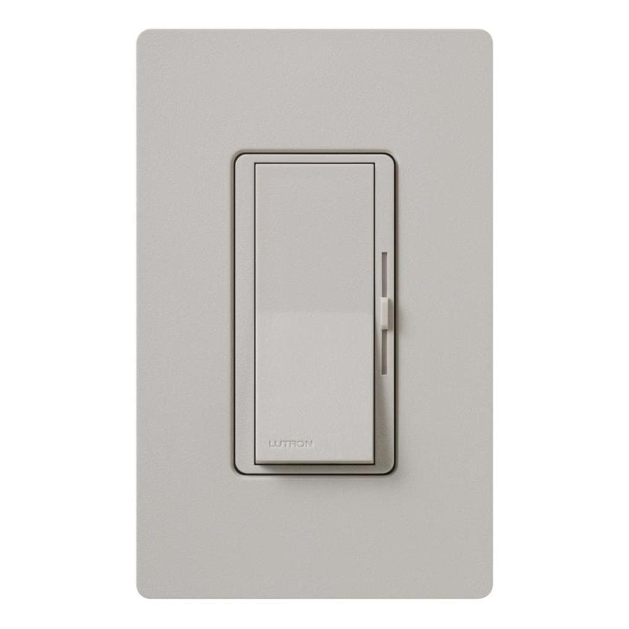 Lutron Diva 600-Watt Single Pole 3-Way Taupe Indoor Dimmer