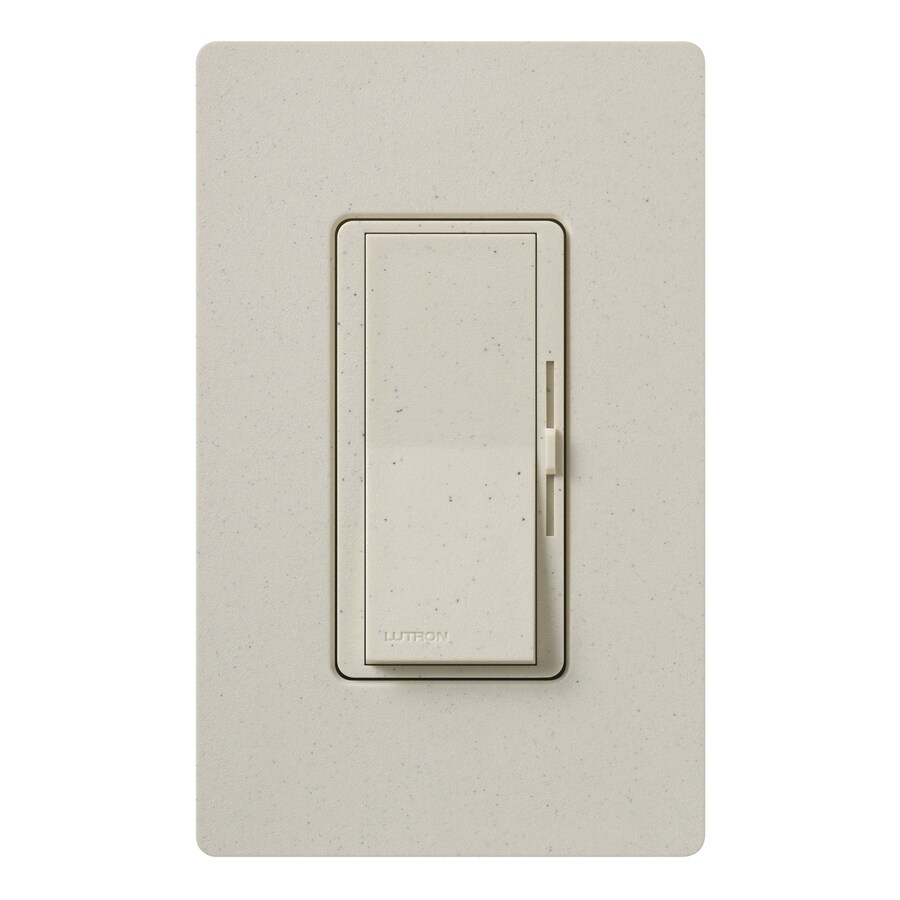 Lutron Diva 800-Watt Single Pole 3-Way Limestone Indoor Dimmer