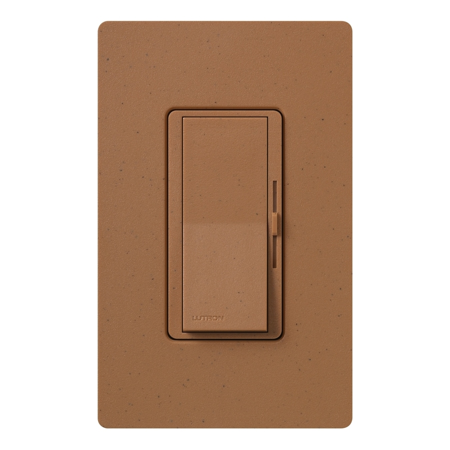Lutron Diva 800-watt Single Pole 3-way Terracotta  Indoor Dimmer
