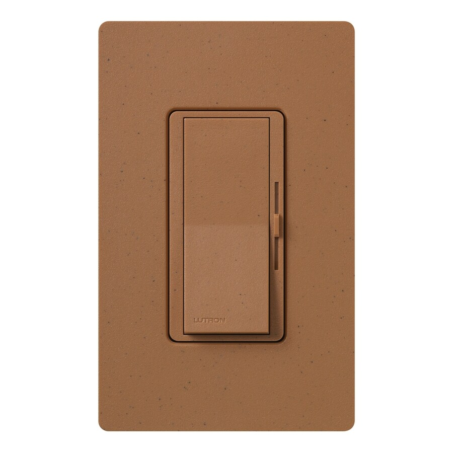 Lutron Diva 300-Watt Single Pole Terracotta Indoor Dimmer