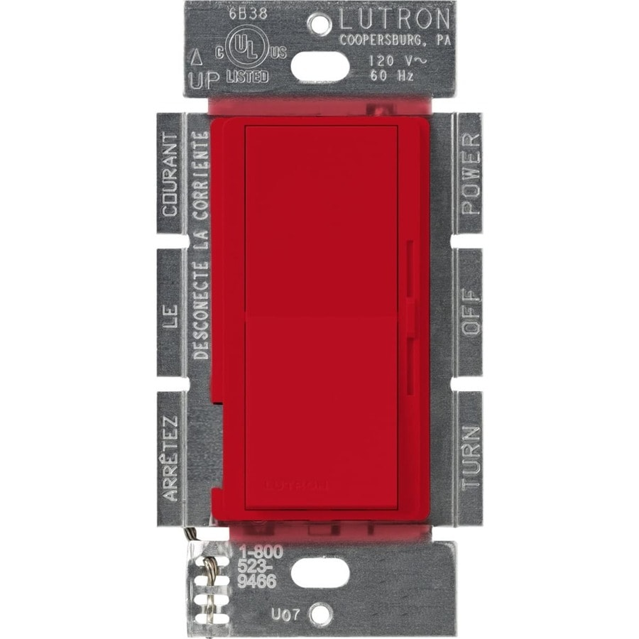 Lutron Diva 300-Watt Single Pole 3-Way Hot Indoor Dimmer