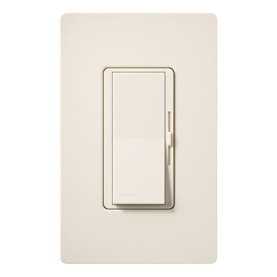 Lutron Diva 1000-watt Single Pole 3-way Eggshell Indoor Dimmer