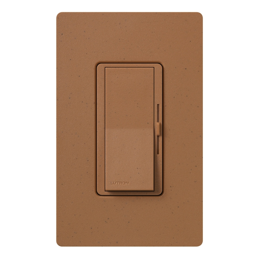 Lutron Diva 1000-Watt Single Pole Terracotta Indoor Dimmer